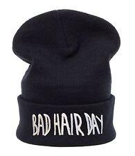 Men Women Knitted Woolly Winter Oversize Slouch Beanie Hat Cap Bad Hair Day
