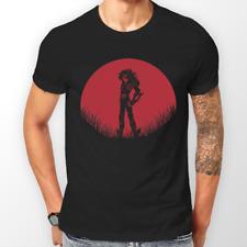 Saint SEIYA CYGNUS HYOGA RED MOON ANIME T-Shirt Unisex T-shirt Tee Tutte le Taglie