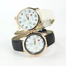 Ladies Fashion Lhau Lian Ta Rose Gold Quartz White Faced Wrist Watch.(Aussie)