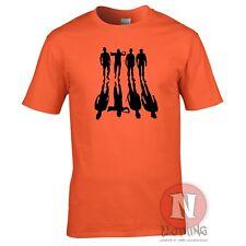 La Naranja Mecánica T-Shirt-film película Kubrick Culto pesado de leche bar TV