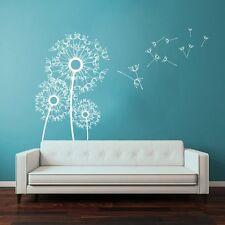Modern Dandelion Flower Wall Sticker Removable Baby Child Room Vinyl Mural Decor