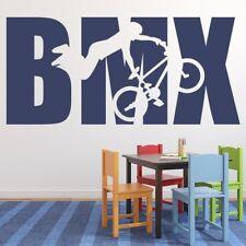 Rower BMX Naklejka Na ścianę WS-50391