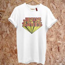 As Worn By Keith Moon Jesus Saves Distressed Retro Premium T-Shirt S-5XL