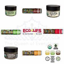 ECO Lips Lip Scrub Lip Balm LipTints Tint USDA Organic 12 Varieties---U Choose!