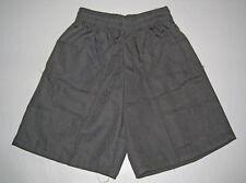 NEW school uniform shorts pants Grey size 5 to 16