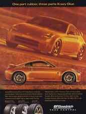 2003-2004 NISSAN 350Z  ~  RARE BF GOODRICH AD