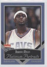 2002-03 Fleer Platinum Portraits #11PP Darius Miles Cleveland Cavaliers Card