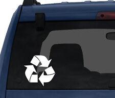 Industry #10 - Reduce Reuse Recycle International Logo - Car Tablet Vinyl Decal