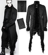 Veste longue gothique victorien dandy vintage jacquard dentelle Punkrave Homme