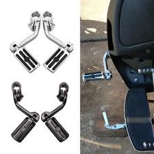 "Motorcycle Long Highway Foot Pegs Pedal 1-1/4"" For Harley Street Glide Road King"
