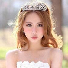 Bridal Wedding Rhinestone Crystal Tiara Headband Princess Prom Crown Headdress K