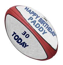 Un jour peut-être 24 Comestibles Papier de Riz cup cake garnitures-Rugby un jour...