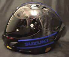 X-Lite X803 Carbon Puro Lucido Suzuki Adesivi Visiera Scura Gratis Casco da Moto