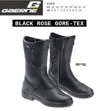 Stivali adventure touring donna woman moto GAERNE BLACK ROSE GORE-TEX nero