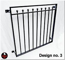 Juliet balcony for French doors, design 3 of 25 Jullimett Solutions