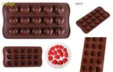 15 Corazones De Chocolate Con Cáscara de Silicona Dulce Molde De Hornear Galletas de Navidad Jelly