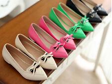 mocassino ballerine scarpe donna tacco 1.5 cm nero rosa magenta beige  cm 8521
