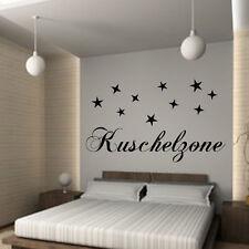 Wandtattoo Kuschelzone Nr.4 Wallsticker Schlafzimmer Kinderzimmer Spruch***