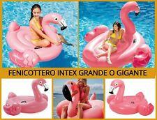 Fenicottero gonfiabile rosa grande gigante gonfiabili mare piscina bambini isola