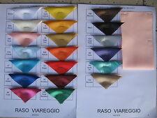 TESSUTO RASO SATIN 100% POLIESTERE (peso gr. 130 mtl.) ALTEZZA 150 cm. 1 METRO
