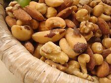 MIX Nuts Deluxe Roast SALTED Hazelnuts Cashew Brazil Nuts Almonds Pecans