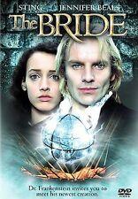 THE BRIDE rare Horror dvd STING As Dr. Frankenstein JENNIFER BEALS 1985 Mint Ln