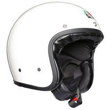 AGV Motorbike Motorcycle Classic Vintage Helmet Legends X70 Mono White