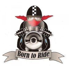 """Sticker Biker """" Born to Ride """""""
