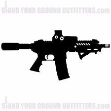 AR15 Pistol Scope EOTECH Rifle Gun Second Amendment Decal Sticker
