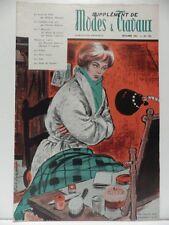 Supplément de MODES ET TRAVAUX numero 732 revue de 1961 magazine roman Bon Etat
