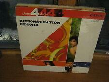 Demonstration Record Phase 4 vinyl LP London Records VG+