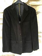 Velvet Jacket Blazer - Men's Black - S, M, L