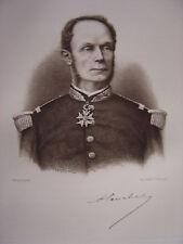 Portrait de l'amiral COURBET   Né à Abbeville