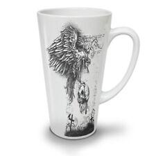 Eagle Skull Death Horror NEW White Tea Coffee Latte Mug 12 17 oz   Wellcoda