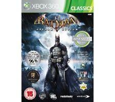 Batman: Arkham Asylum --  (Microsoft Xbox 360, 2010) -