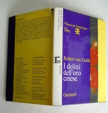 VAN GULIK, I delitti dell'oro cinese - Garzanti, 1965