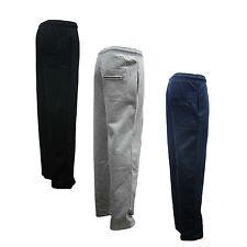Mens Fleece Jogging Trouser Joggers Tracksuit Bottoms 5XL BLACK, NAVY, GREY