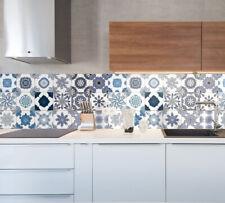 Pannelllo Paraschizzi Cucina Adesivo Maioliche Azulejos  | 3 varianti colore