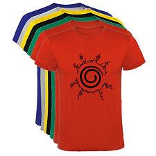 Camiseta Naruto 4 cuatro tigramas ninja Hombre varias tallas y colores a050