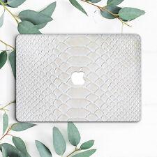 Retro White Snake Skin Hard Case Cover For Macbook Pro Retina Air 11 12 13 15