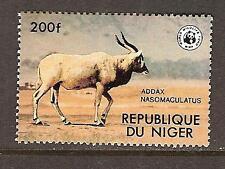 NIGER # 451 MNH ADDAX AFRICAN ANTELOPE