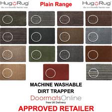 HUG RUG Dirt Trapper Floor / Door Mat Machine Washable VARIOUS sizes