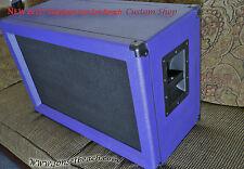 "SONSETBEACH Purple ORANGE 2x12"" Custom Speaker Cab SSB212B with  Jensen Speakers"