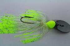"Vibrating Venom Chatter Bait - 3/8 ounce - ""NITE LIGHT"" - Bass/Pike/Fishing"
