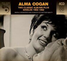 ALMA COGAN - 2 CLASSIC ALBUMS PLUS SINGLES 1952 - 1962 4 CD NEW