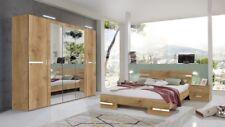 Qmax 'Anya' Range German Made Bedroom Furniture. In Planked Oak Finish
