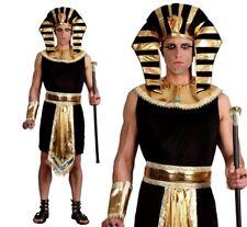 Adulto Rey Egipcio Faraón Tutankamón Pirámide Fancy Dress Costume Masculina Para Hombre