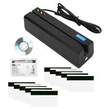MSR605X/MSR606 Magnetic Strip Credit Card Reader LED Indicator Magstripe Writer