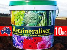 REMINERALISER MINERAL ROCK DUST ORGANIC PLANT VEGETABLE GARDEN FERTILISER 5/10kg
