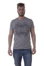 T-shirt Maglietta Versace Jeans Sweatshirt % PLUTO Uomo Grigio B3GPA754-810